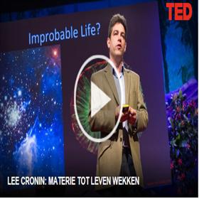 Chemicus Lee Cronin opent honderdste verjaardag van WUR: Hoe ontstaat leven?